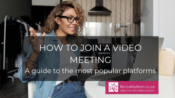 How to join a video meeting - A guide to the most popular platforms