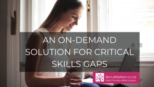 An On-Demand Solution for Critical Skills Gaps