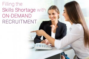 Filling the Skills Shortage with On-Demand Recruitment