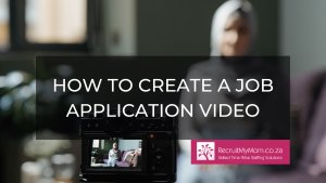 How to create a job application video