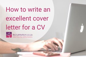 How to write an excellent cover letter for a CV