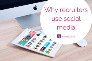 Why recruiters use social media