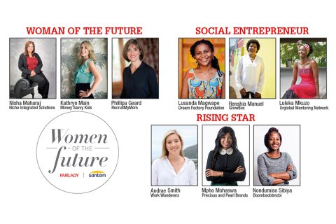 Finalists announced for the Fairlady Santam women of the future awards 2019