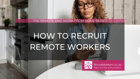 How to recruit remote workers