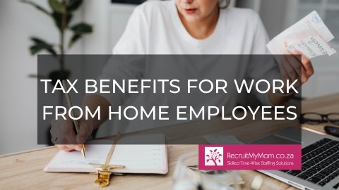 Tax benefits for work from home employees